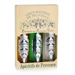 Coffret 3 absinthes