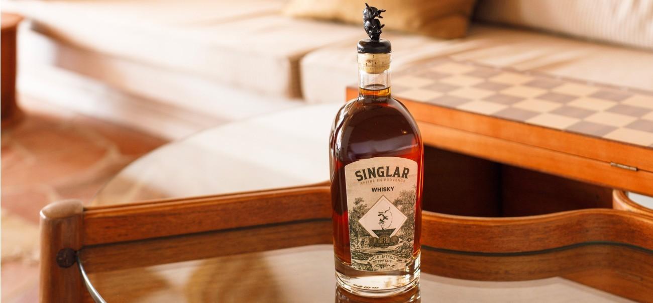 Whisky artisanal affiné en Provence