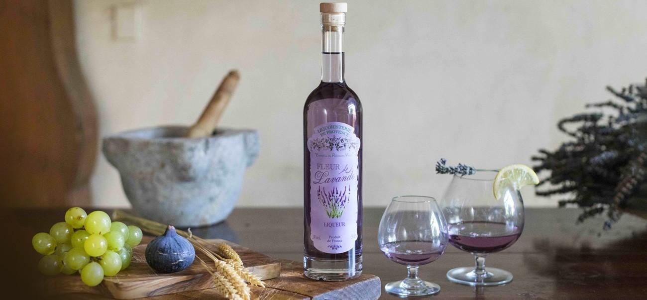 Our range of liqueurs de Provence | Liquoristerie de Provence